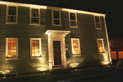 light up house artistic landscapes 187 uplighting the front of a