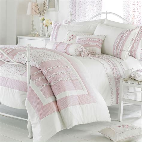 riva home vintage bedding set in pink next day delivery