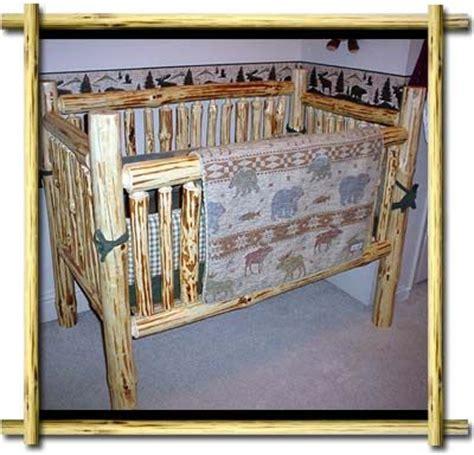 log baby cribs rustic baby cribs and a log furniture rustic log cabin