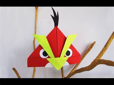 simple crafts using paper fantastic yellow and angry birds made easy using color