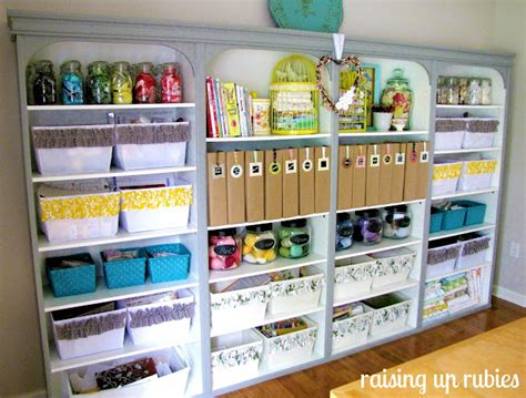 craft storage for bookshelves archives craft storage ideas