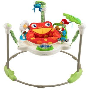 fisher price rainforest jumperoo baby jumper review