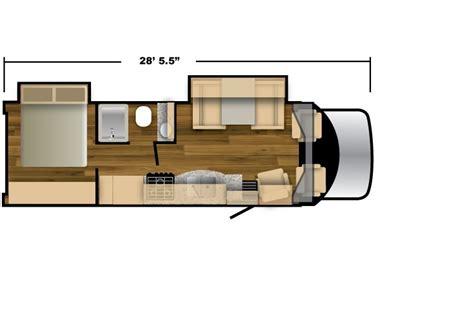 nexus rv floor plans nexus 27v viper class b motorhome floorplan 28 5