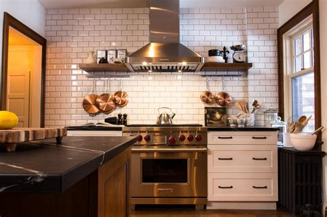pictures of kitchen backsplashes with tile 9 kitchens with show stopping backsplash hgtv s
