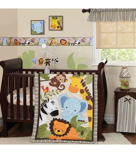 jungle crib bedding jungle crib bedding jungle babies crib bedding