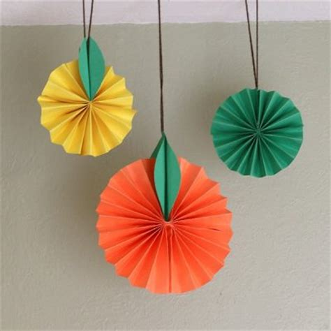 paper crafts citrus fruit paper craft family crafts