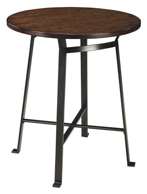 Pub Dining Table Signature Design Challiman Industrial Style