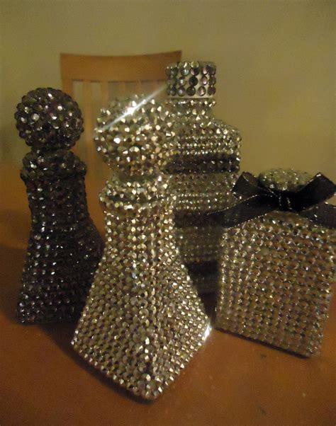 bling home decor diy home d 233 cor make gorgeous rhinestone covered bottles
