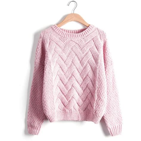 knitted womens jumpers chunky cable knit jumper womens crochet and knit