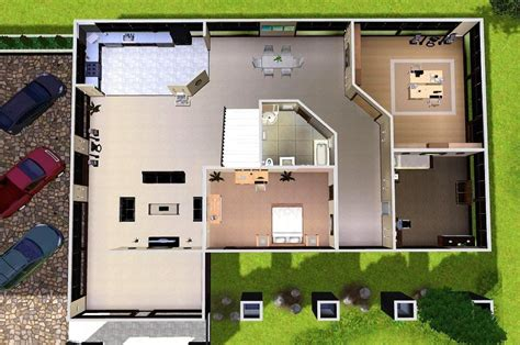 27 sims 3 floorplans ideas building plans 85677