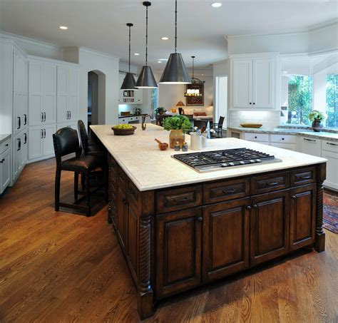 kitchen islands with stove kitchen island with cooktop two ones you can consider amaza design