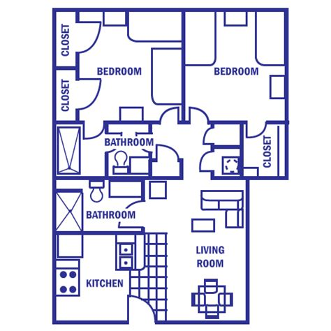 800 square dimensions 28 800 square dimensions 2 bedroom apartment