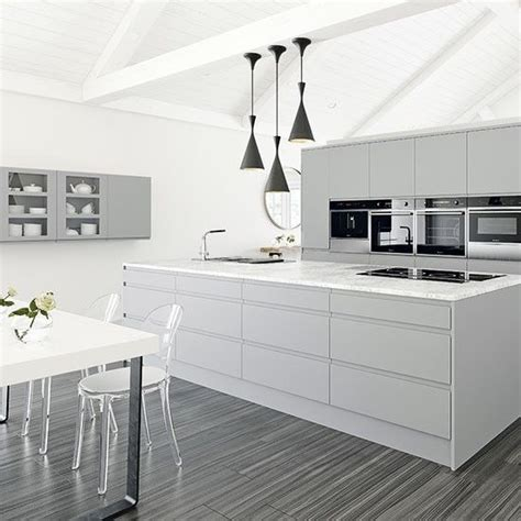 white and grey kitchen designs best 20 white grey kitchens ideas on white
