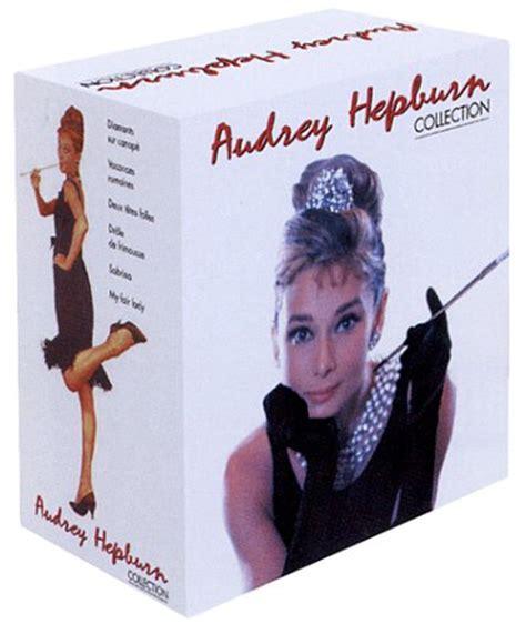 coffret hepburn 6 vhs my fair diamants sur canap 233 vacances romaines deux