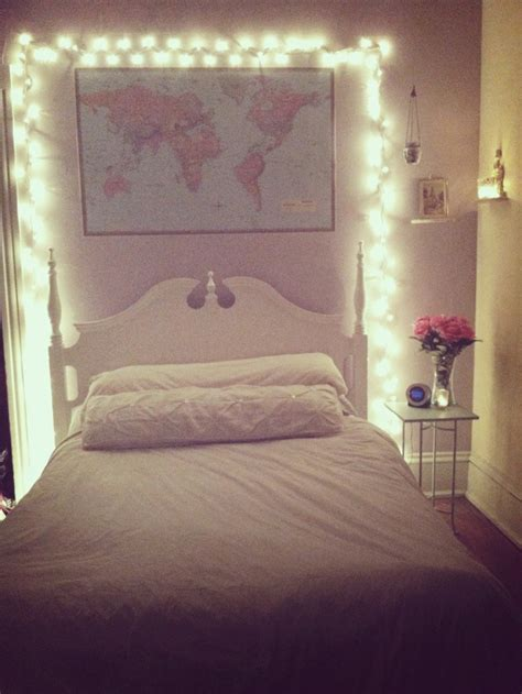 Purple And Brown Bedroom Ideas bedroom fairy lights and world map decor pinterest fresh