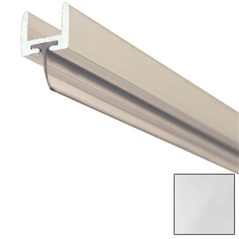 shower door u channel shower door u channel w wipe 3 8in brite anodized product