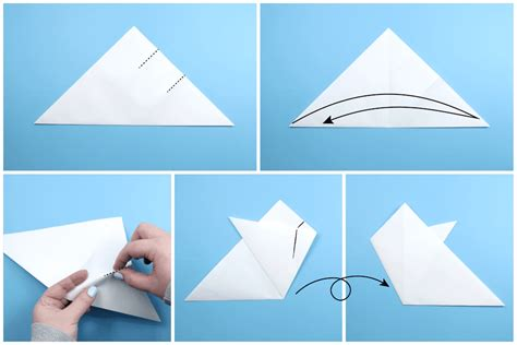 how to make a snowflake origami how to make an origami snowflake