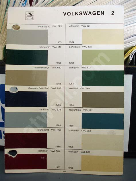 original paint colors vw welche farbe hat euer wagen seite 4 exterieur c
