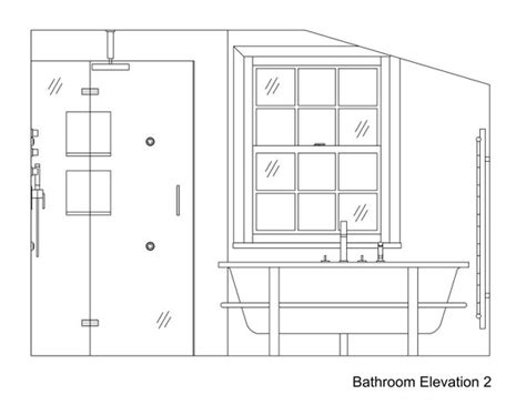 bathroom drawing bathroom drawings 187 kent griffiths design