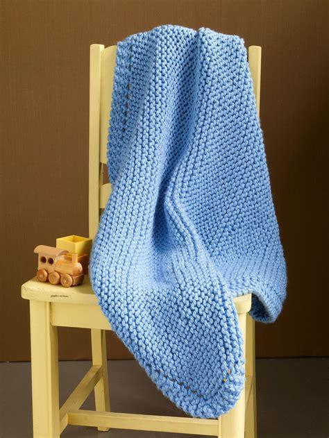 beginner knit blanket still river baby blanket allfreeknitting