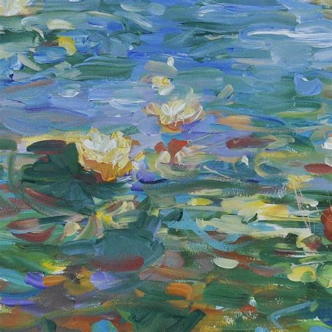 acrylic painting water lilies 1000 images about water lilies on