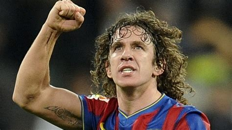 world renowned former fc barcelona soccer star carles