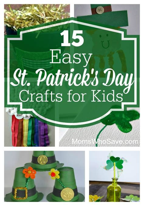 st s day crafts for 15 easy st s day crafts for momswhosave