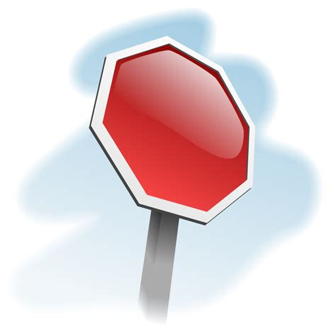 stop sign template cliparts co