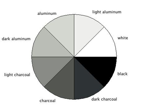 shades of grey colors gray