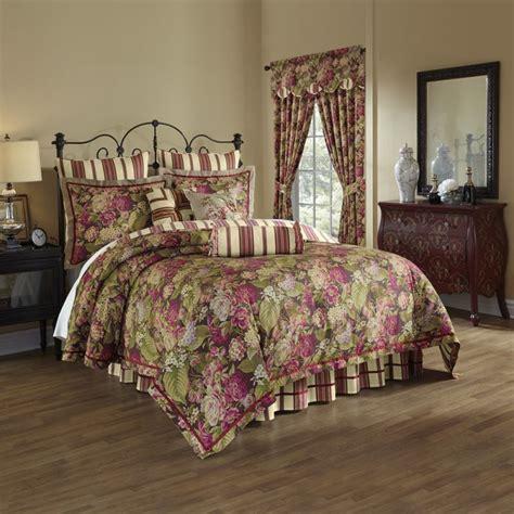 waverly comforters sets waverly waverly floral flourish cordial 4 bedding