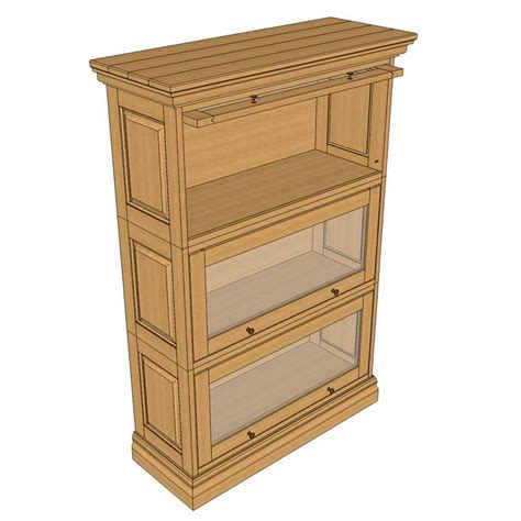 woodworking bookcase barrister s bookcase plan woodworking projects plans