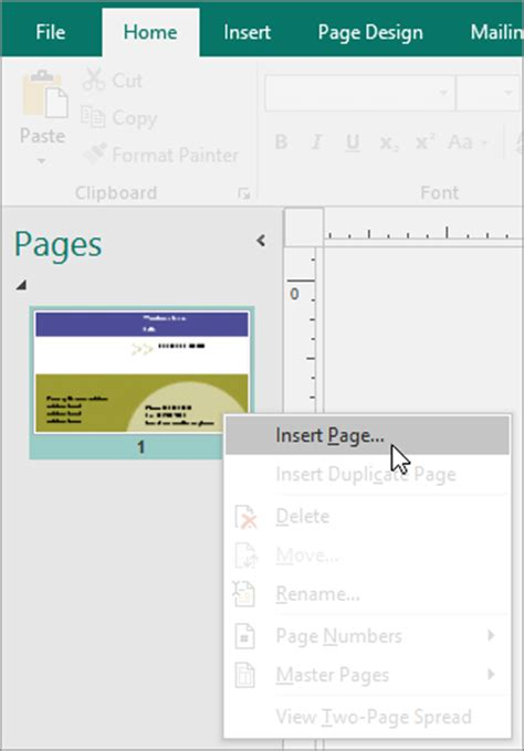 how to make business cards in publisher create and print your own business cards in publisher