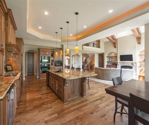 open kitchen floor plans open concept floor plans kitchen traditional with open