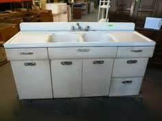 metal kitchen sinks vintage retro metal kitchen sink unit cabinet