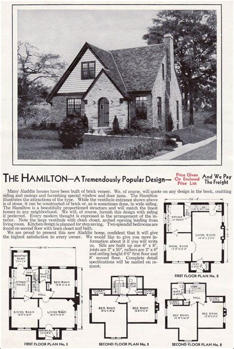era house plans 1940 kit homes catalog the hamilton wwii era house and home advertising quot the hamilton