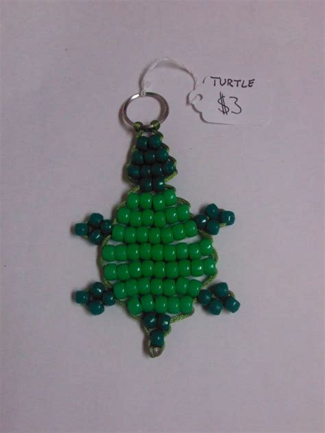how to make a bead pet turtle bead pet keychain
