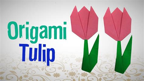 how to make an origami tulip origami amusing origami tulip origami tulip