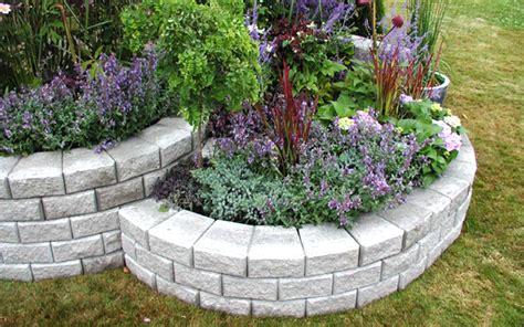 retaining walls for gardens deerwood landscaping segmental wall system garden