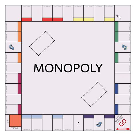 make your own monopoly chance cards blank board templates myideasbedroom