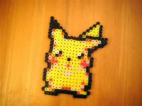 pixel bead pikachu pixel by x1901 on deviantart