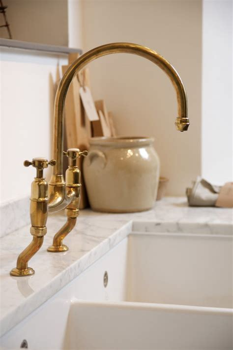 Deck Plate For Kitchen Faucet the perfect antique brass tap by devol the devol journal
