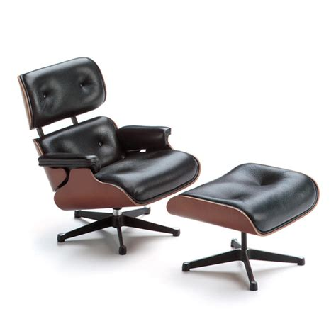 Vitra Eames Lounge Chair Replica by Vitra Design Museum Shop Miniature Lounge Chair Ottoman