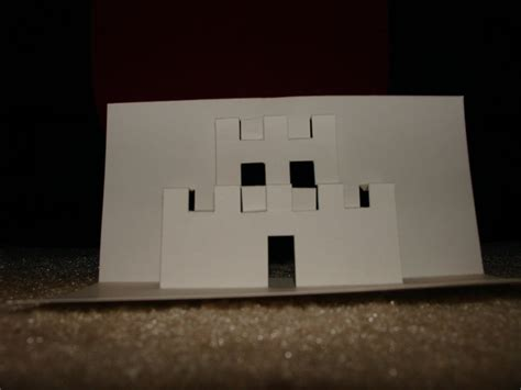 how to make a pop up castle card mario castle pop up card by epsilonwolf on deviantart