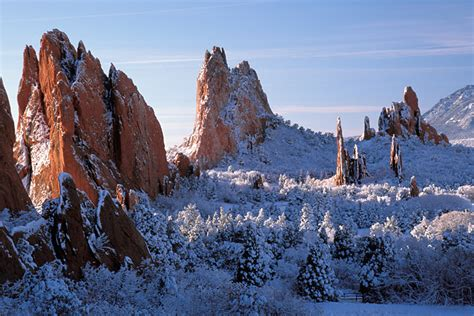 Garden Of The Gods Winter Vacation Colorado Springs Archives Travel