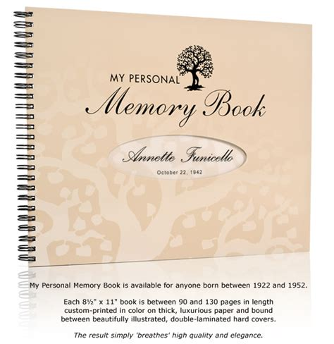 picture memory book my personal memory book a truly memorable birthday gift