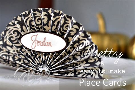 how to make place cards easy to make thanksgiving place cards create and babble