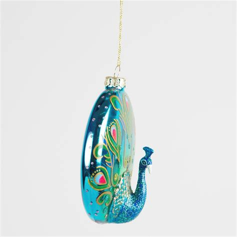luxury tree ornaments luxury glass birds tree hanging decorations
