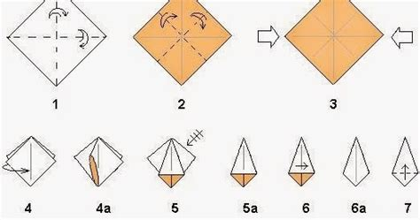 easy step by step origami flowers easy origami flower steps origami and