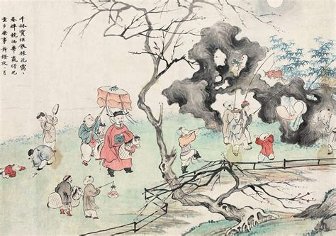 festival painting cina lantern festival in the paintings 6 chinadaily