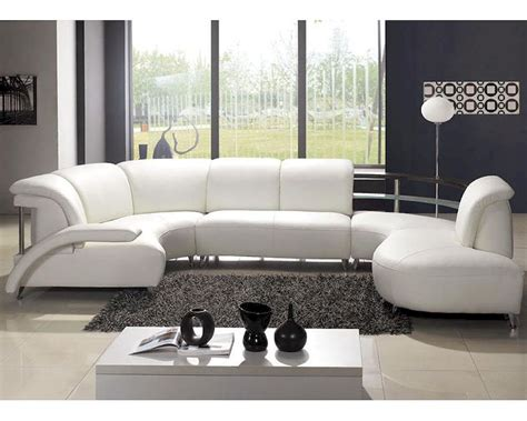 u shaped leather sectional sofa modern quot u quot shaped leather sectional sofa 44lv104
